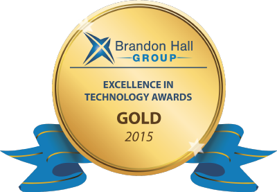 Brandon Hall Group Gold Award 2015