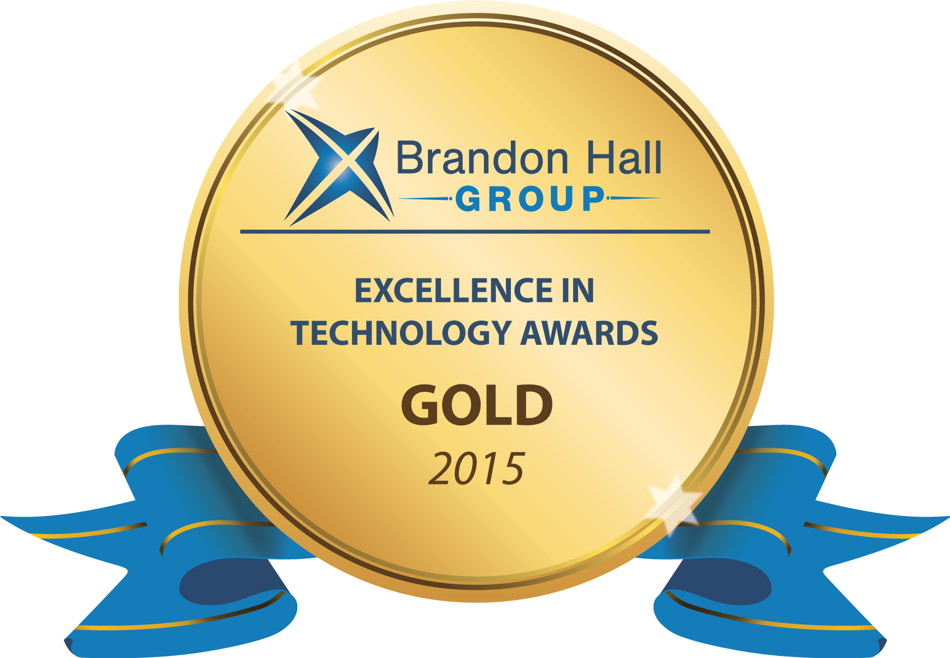 Brandon Hall Group Excellence in Technology Gold Award 2015