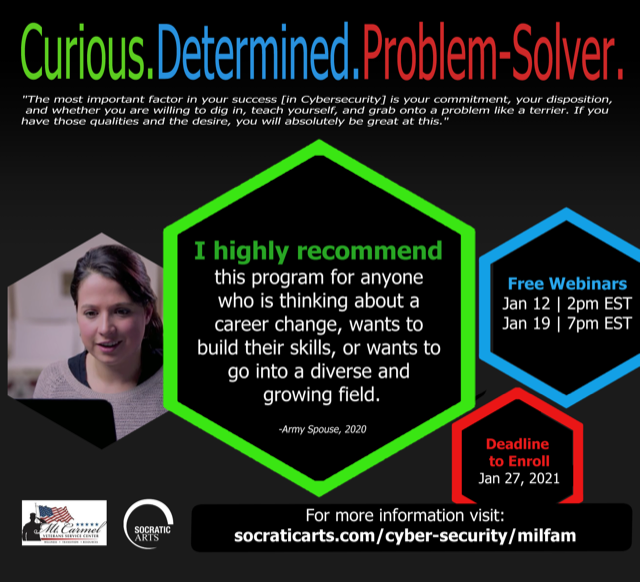 Training for curious, determined, problem solvers. Visit the page for full details.